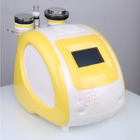 비 외과 40K 25K 캐비테이션 슬리밍 기계와 다극 초음파 Cavitation 및 RF 치료 헤드의 경우 지방 제거