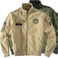 US Military Tactical Male Luft Armee Jacke Baseball Varsity College-Pilot Air Force Wasserdichtes Flug Bomber-Mantel-Männer