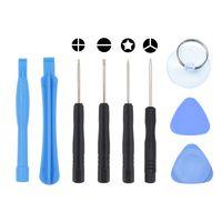 9 in 1 Reparatur-Öffnungs-Tools Kit-Hebel-Werkzeug Mit dem iPhone 4 4G 5 5S 6 6Plus 6S 7 8 X Gewohnheit 2000pcs / lot