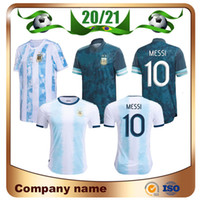 2020 Argentine # 10 Messi Soccer Jersey 20/21 Argentine Accueil Aguero Icardi di Maria Shirt de football Away Lautaro Football Uniforme Ventes