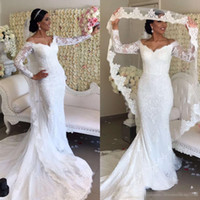 Vintage African Mermaid Wedding Dresses 2019 Robe De Mariee ...