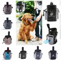 8styles Pet Dog Trainning Bag Waterproof Oxford Cloth Small Doggy Cat Snack Waist Bags outdoor Portable Puppy Garbage Pocket FFA4177