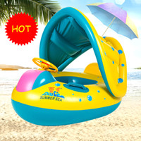 Kids Summer Swimming Pool Swimming Ring Inflatable Swim Floa...