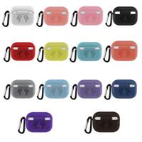 Funda protectora del nuevo auricular para Apple AirPods 3 de silicona suave cubierta inalámbrico Bluetooth para auriculares Caso vainas de aire para