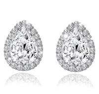 Jewelry Design Casamento de Água Crystal brinco mulheres brinco de strass Brincos de luxo brincos para mulheres presente