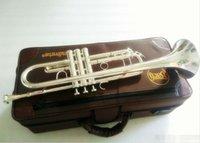 Ağızlık Case Bach Profesyonel Bb Trompet LT180S-43 Gümüş Kaplama Aletleri Musicales Profesionales