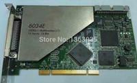 100% testado Trabalho Perfeito para PCI-6034E 6034E 200kS / s Multifunction I / O, 16 Entradas, 16 Bits DAQ cartão