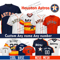 686e3e54406 Wholesale alex bregman jersey online - Custom Jose Altuve Houston Men Astros  jersey Nolan Ryan Alex