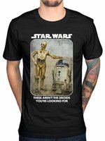 Haut officiel tee-shirt Droids R2D2 C3PO Galaxy New Hommes S-4XL N612