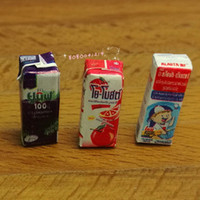 Atacado- Dollhouse Miniature 1:12 Toy 3 Packs de Soft Drink Length 1.5cm SPO520