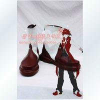 Wholesale Kyoko Sakura Cosplay - Wholesale-Puella Magi Madoka Magica Kyoko Sakura Cosplay Shoes Boots Male Version