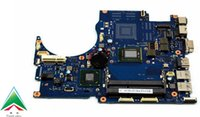 Wholesale Intel I5 Graphics - PN BA92-09022A BA92-09022B Laptop Motherboard For Samsung NP-QX411 QX411 Series Laptop HM65 I5 CPU Included Has no graphics chip included
