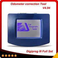Wholesale Digiprog Full Set - 2016 New DIGIPROG III Digiprog 3 full set V4.94 Digiprog3 Car Odometer Programmer with Full Software multi-language In stock