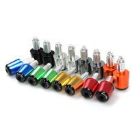 Wholesale Kawasaki Cap - For HONDA YAMAHA KTM KAWASAKI BMW SUZUKI CNC Motorcycle Parts Street Bike Handlebar Cap Hand Grips Bar Ends Plugs universal