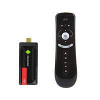 MK809IV MK809 IV Quad Core TV vara Box Media Player Google 2GB Android / 8GB WIFI HDMI Smart TV Dongle + T2 giroscópio voar rato
