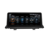 videos mp4 hd al por mayor-Pantalla de 10.25 pulgadas 1280 * 480 HD Android7.1 Navegación GPS con DVD para automóvil para BMW X5 E70 F15 F18 X6 E71 F16 F86 pantalla original de 6.5