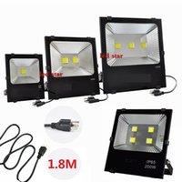 Wholesale wall projectors for sale - Group buy Outdoor W LED Floodlights W W W Led Flood lights Waterproof Wall Lamp Projectors Landscape Lightingting m Cable US Plug