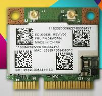 Wholesale Wlan Card Bluetooth - Wholesale- 300Mbps for BROADCOM BCM943228HMB 04W3764 Bluetooth 4.0 for Lenovo Wlan card E130 E135 E330 E335 E530 E535 E430 E435 S430 B430