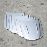 Wholesale Speed Windshield - 30*26cm metal car speed shape mini car bonnet mini hood custom paint sample model for Auto Body glass coating display MX-179M 10pcs