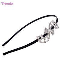 "Wholesale S Shaped Headbands - China Yiwu Trendz Jewelry ""S"" Shape Crystal Rhinestone Hair Accessories Elegant Women Loved Beautiful Headbands Wholesale FG_F01-02"