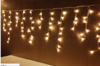 xmas icicles toptan satış-15 M 648 LED Icicle led Işık perdesi Peri Dize Lambası femalemale bağlayıcı 8 Modları denetleyici / Parti xmas Düğün dekorasyon