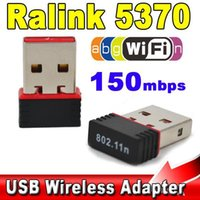 Mini 150Mbps USB 2.0 WiFi Adattatore 150 scheda di rete LAN 802.11 ngb REALTEK 5370 misura per Apple Macbook Pro Air Win Xp 7 8