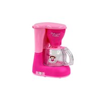 Wholesale Appliances Coffee - Wholesale- 1 PCMini Coffee Machine Small Household Toys Simulated Appliances