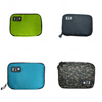 Wholesale usb door - USB Cable Organizer Storages Bags Shockproof Headset Storage Bag Easy To Carry Multicolor Hot Sell 11dn C R