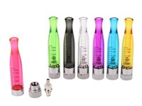 Wholesale h2 tanks - 40%off!!!New 2.0ml GS-H2 Atomizer H2 Cartomizer e cig tanks GS H2 Atomizer Clearomizer No Wick Rainbow Colors e cigars Replace CE4 Atomizer