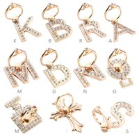 Wholesale Wholesale Diamond Ring Mounts - Diamond ring buckle metal letters Sticking anti dropping and falling prevention Cell Phone Mounts Square lazy Holders