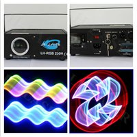 Wholesale Show Laser 1w Green - Christmas laser 1w logo projector rgb animation laser light show RGB Stage full color ILDA Animation Laser Light