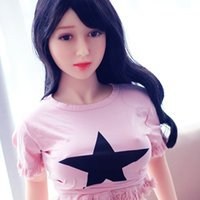 Wholesale Shemale Real Doll - 140cm B cup small breast real sex doll full silicone shemale sex love doll Asia Men's Masturbation sex love doll for man