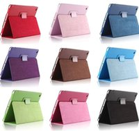 Wholesale cotton case for ipad - Folio Magnetic Fold PU Leather Case Cover Stand For New iPad 2017 9.7 Pro 10.5 Inch Air 2 3 4 5 6 Mini 2 3 4