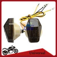 Wholesale turn signal flasher for motorcycle - Flush Mount LED Turn Signal Light Motorcycle Indicator LED Blinker Flasher FOR SUZUKI GSXR750 600 1000 BANDIT 600S 1200S 1250S order<$18no t