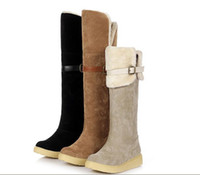Wholesale wholesale thigh high boots - DHLfree Winter autumn snow boots fashion shoes women tall boots sneakers china factory original cheap price high quality honest partner