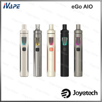 Wholesale Ego First - Joyetech eGo AIO Kit 100% Original 2mL With 1500mAh Battery Anti-leaking First Childproof Tank Lock System All-in-one Style Vaping Device