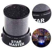 Wholesale Led Light Projectors Sale - Hot Sale! Dreamlike Amazing Flashing Colorful Star Night Light Novelty LED Sky Star Master Night Lamp Projector Lamp