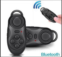 Wholesale Timer For Games Wholesale - Universal Mini Wireless Bluetooth Gamepad + Smart Selfie Remote shutter Self timer + Wireless mouse + Game Controller For IOS Android PC DHL
