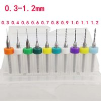 Wholesale Hot mm PCB Print Circuit Board Carbide Micro Drill Bit Tool Set order lt no track