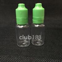 botellas de manipulación de 15 ml al por mayor-botella al por mayor de la botella vacía de 15ml botellas plásticas del dropper del ANIMAL DOMÉSTICO con los extremidades finas finas a prueba de manipulación y casquillos a prueba de niños E botella de aguja líquida