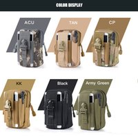 Wholesale Nylon Soft Case - 10-0007 Military Molle Tactical Waist Bag Wallet Pouch Phone Case Outdoor Caping Hiking Bag