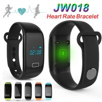 Herzfrequenz-JW018 Smart Watch Touch-Armband Bluetooth Passometer Sports Fitness Tracker for iPhone Andriod Telefon Armbänder DHL frei