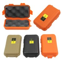 Wholesale Plastic Tool Box Storage - Outdoor Shockproof Waterproof Airtight Survival Storage Case Container Carry Box Three colors ISP