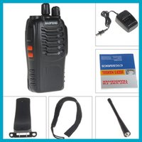 Wholesale-4pcs / lot! BaoFeng Nueva Walkie Talkie Baofeng BF-888S FM Transceptor 400-470MHz banda dual Intercom Interphone radio de dos vías