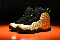Wholesale Boy Surfer - Metallic Gold Penny Hardaway kids Childrens Sneakers Silver Surfer Age Dr. Doom University Red Basketball Shoes Running Shoes for Girls Boys