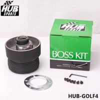 Wholesale TANSKY High Quality Racing Steering Wheel Boss Kit Hub Adapter Fit For Volkswagen VW Golf4 HUB GOLF4