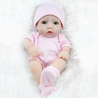 Wholesale Reborn Baby Preemie - Mini Fashion Baby Doll Bebe Dolls Full Vinyl Soft Girl Lifelike Realistic Preemie Toys Reborn Baby Girl