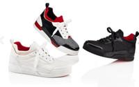 lüks mini elbise toptan satış-Fabrika Fiyat-Düşük Üst Lüks Aurelien Düz Kırmızı Alt Sneaker Ayakkabı Ile erkek Moda Rahat Açık Parti Düğün Elbise