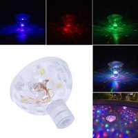 Wholesale Colorful Tub Light - LED Swimming Pool Disco Lights Show Colorful Pond SPA HOT TUB Party Lamp Bulb
