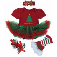 ingrosso costumi baby novità-Pagliaccetti per neonati per bambini Ragazza Suumer Suit Novità Costume Set di abbigliamento natalizio per bambini Bebe Pagliaccetti Festa di compleanno Cosplay Regalo 3 6 -9 12 18m